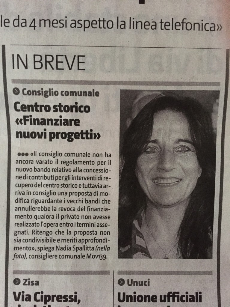 Contributi centro storico 13 marzo 2015 Giornale di SIcilia