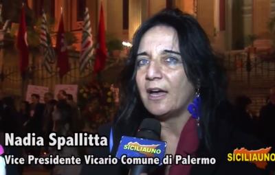 intervista spallitta siciliauno manifestazione tunisi