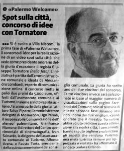 Giornale di Sicilia - 19 maggio 2015