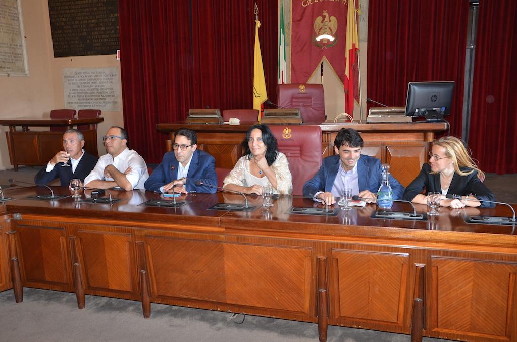 Conferenza Spallitta passaggio Pd 1