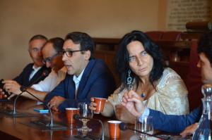 Conferenza Spallitta passaggio Pd 2
