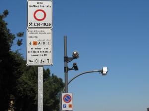 ztl zone traffico limitato